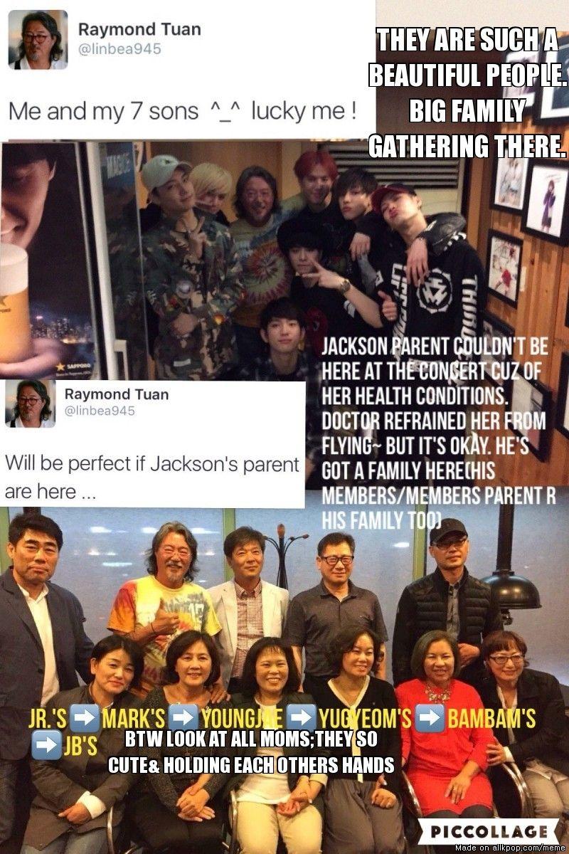 PAPA TUAN UPDATES: GOT7 & GOT7 PARENTS HANGING OUT AFTER CONCERT | allkpop Meme Center