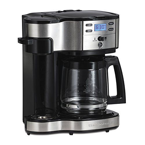 Hamilton Beach 49980a Single Serve Coffee Brewer And Full Https Www Amazon Com Dp B00ei7d Single Coffee Maker Single Serve Coffee Makers Best Coffee Maker