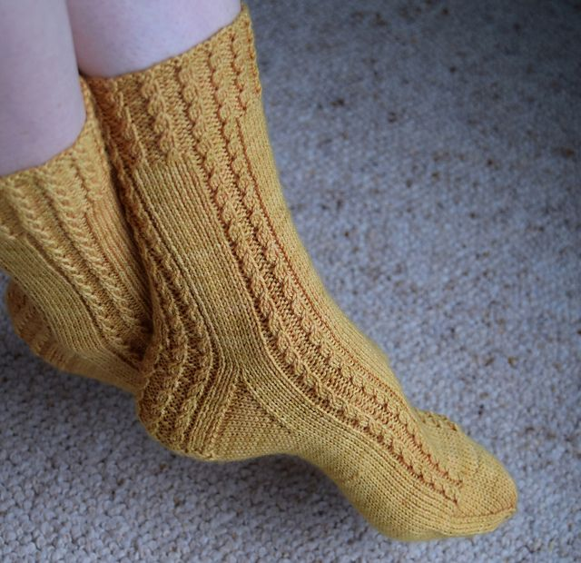 Ravelry: Torquent Socks pattern by Jo-Anne Klim