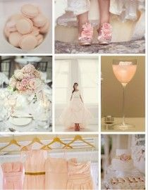 Blush Wedding Color Palettes | Happily Ever After | Pinterest ...