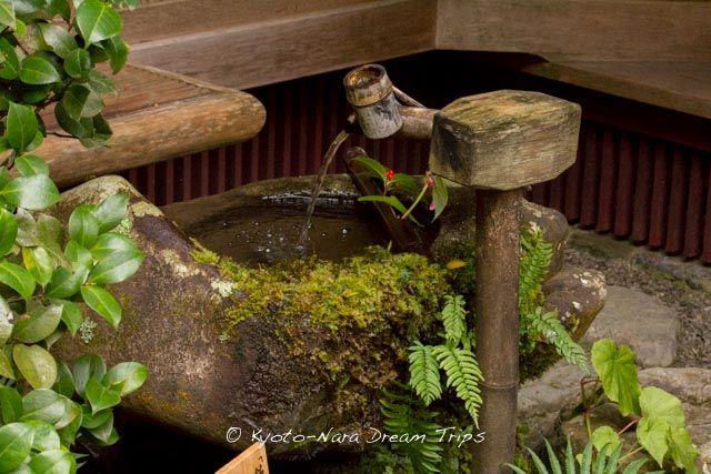A picturesque Temizuya (手水舎) in the garden of the Jakkō-in temple (寂光院) in Ōhara, Kyoto. #Jakkōin, #寂光院, #Kyoto