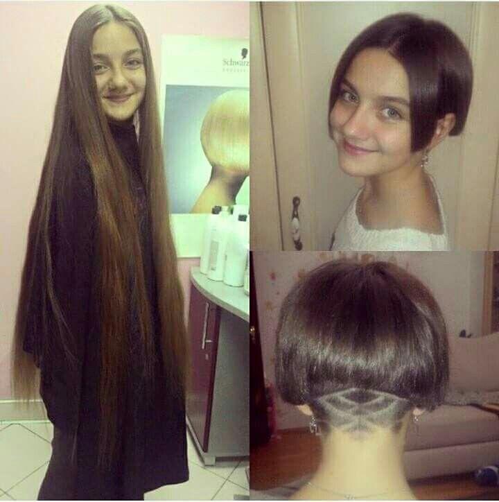 Long Hair Cutting Cut Hair Pinterest Hair Cuts Hair And Long