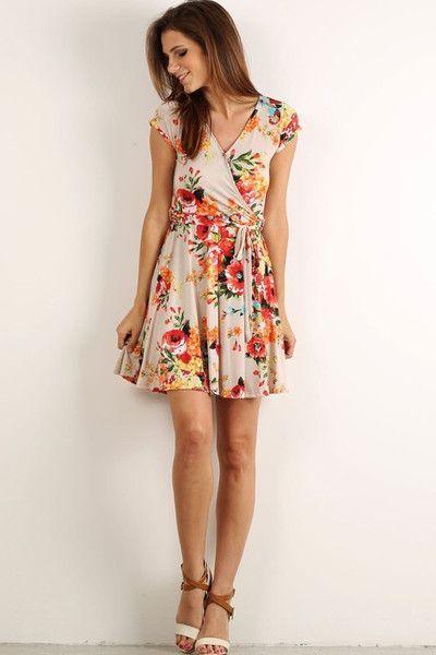 Exotic Wrap Dresses