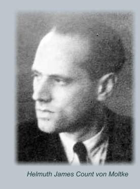 Helmuth James count von Moltke/member of german aristocracy