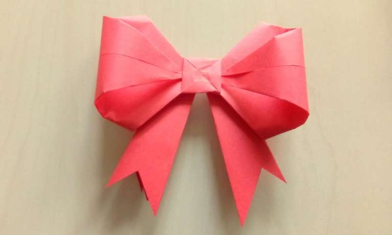 Fresh Origami Bow Instructions In English Best Photos For World