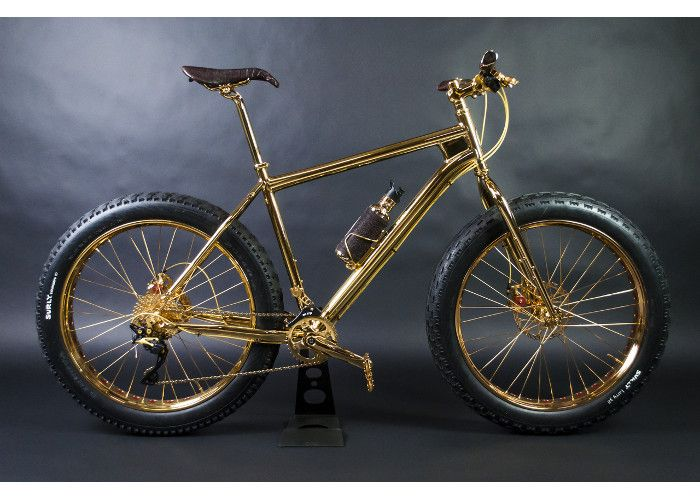 24k Gold Extreme Mountain Bike Gallery The Most Expensive Bicycles In The World Total Women S Cycling Extreme Mountain Biking Beautiful Bicycle Bicycle