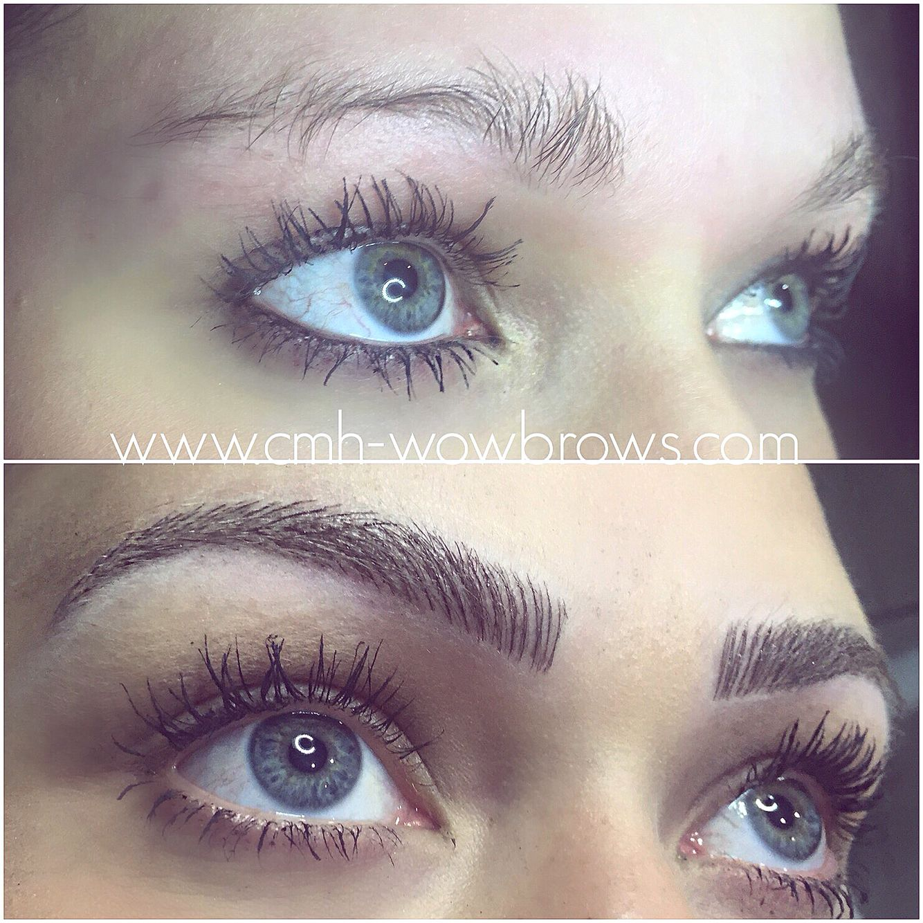Eyebrow tattooing Feather touch Microblading Hair stroke