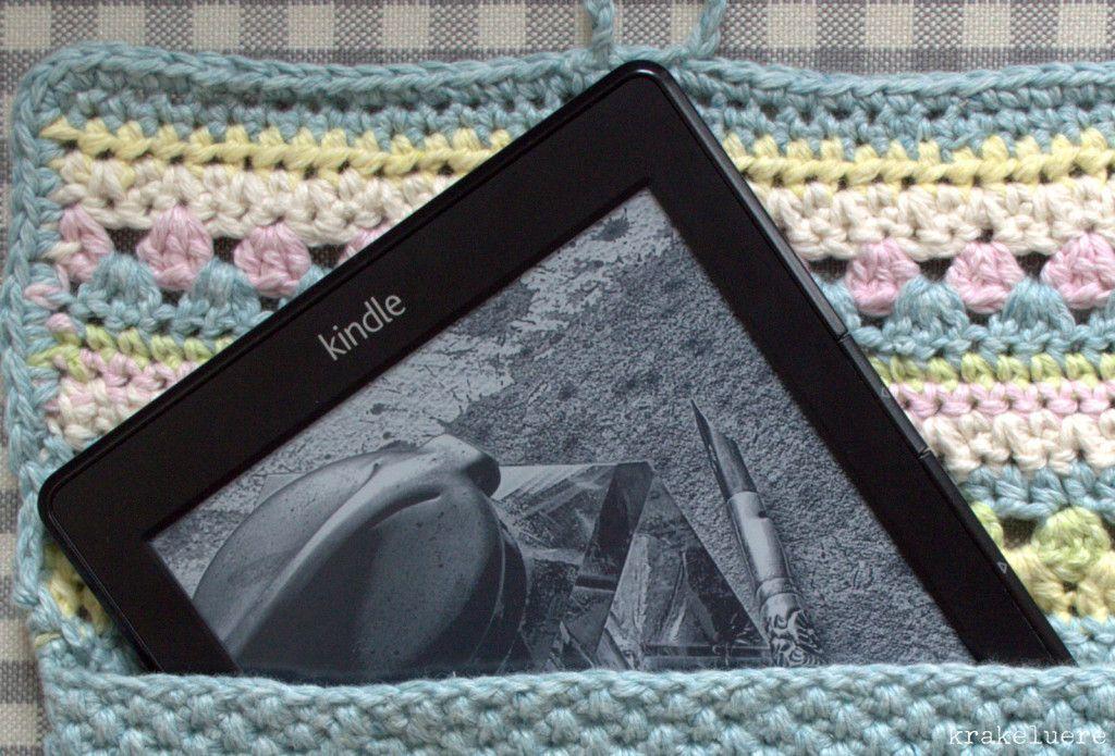 E Book Reader Hülle Gehäkelte Beuteltaschen Häkeln Tasche