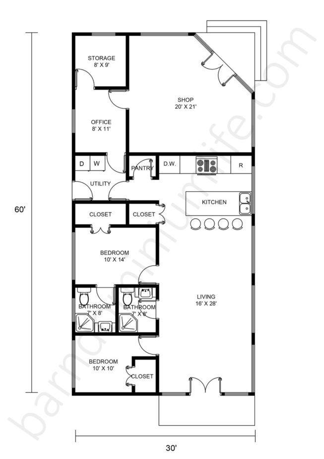 Boyd Texas Barndominium 2400 Sq Ft Paradise Home With Shop