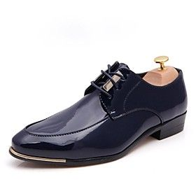 Men's Shoes Comfort Pointed Toe Flat Heel Leather Oxfords Shoes More Colors available