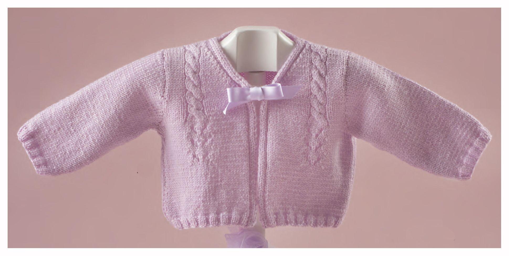 patrón gratis de chaqueta con ovillos de lana Katia   Punto Bebe ...