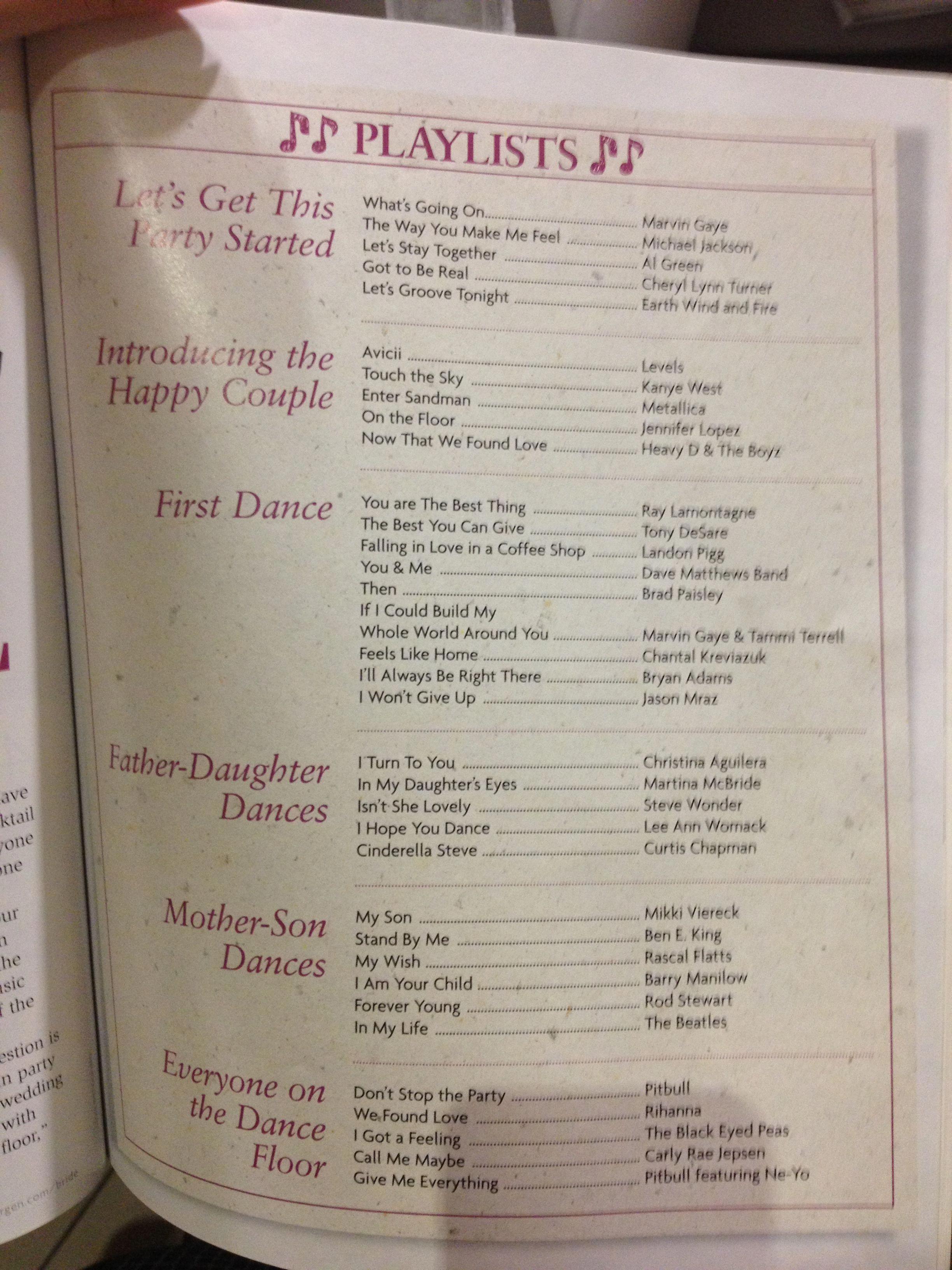 Wedding music guide Wedding music