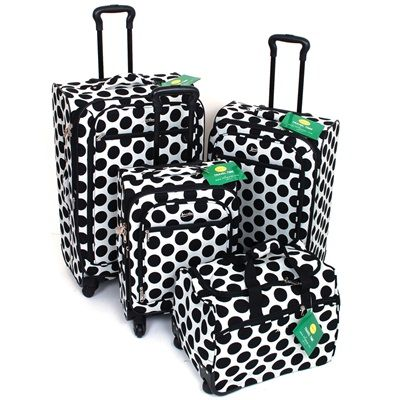 Luggage Rack Target Beauteous $13999 Artofdeals #4Piece #luggage Set 4 #wheel Spinner Upright Decorating Design