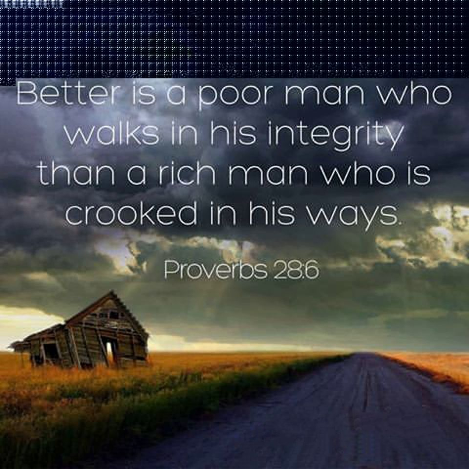 Proverbs 28:6 | Book of proverbs, Proverbs, Proverbs 28