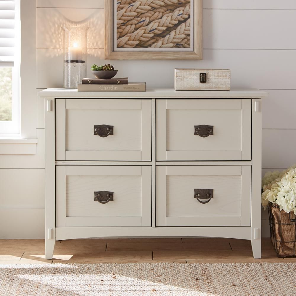 Home decorators collection artisan white 4 drawer file