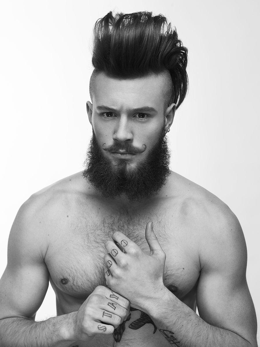 Haircut for men no beard declan geragthy by dimitris theocharis  beard  pinterest  greasy