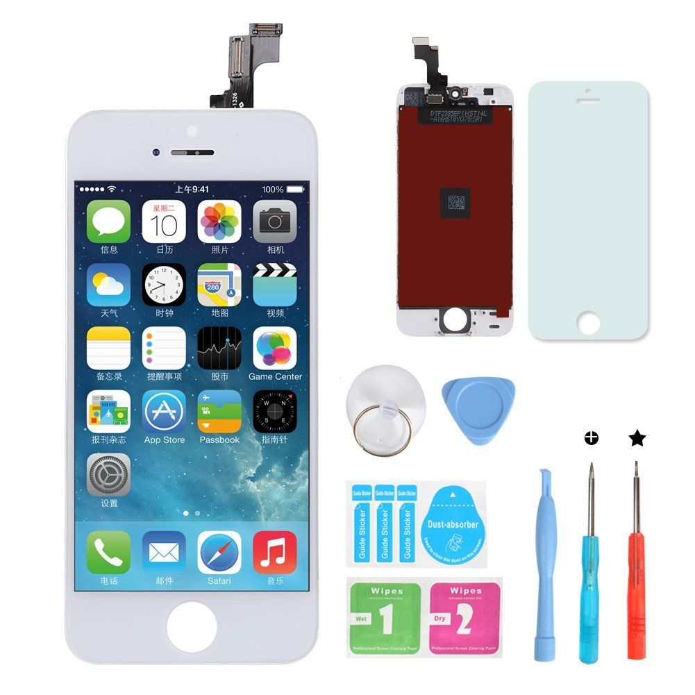 Hxsz lcd touch screen digitizer frame assembly full set
