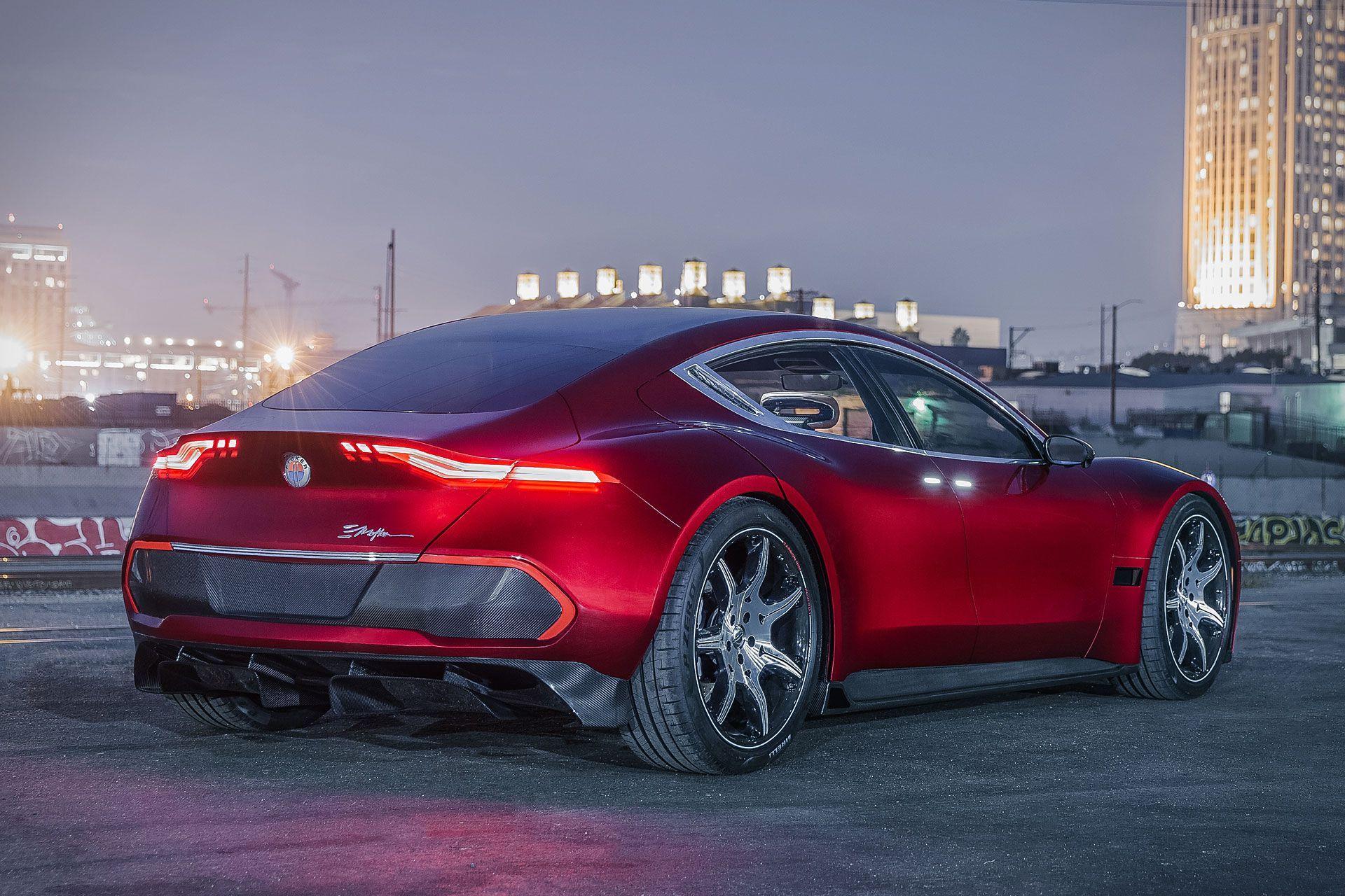 Fisker Emotion Sedan Electric Sports Car Electric Cars Hybrid Car