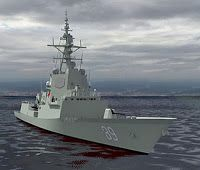 Warship project heading for cost blowout
