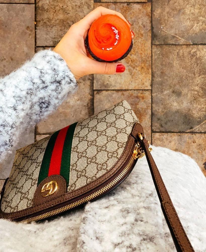 037cc18491496a Bildresultat för gucci ophidia   Handbags   Bags, Gucci, Blue satin