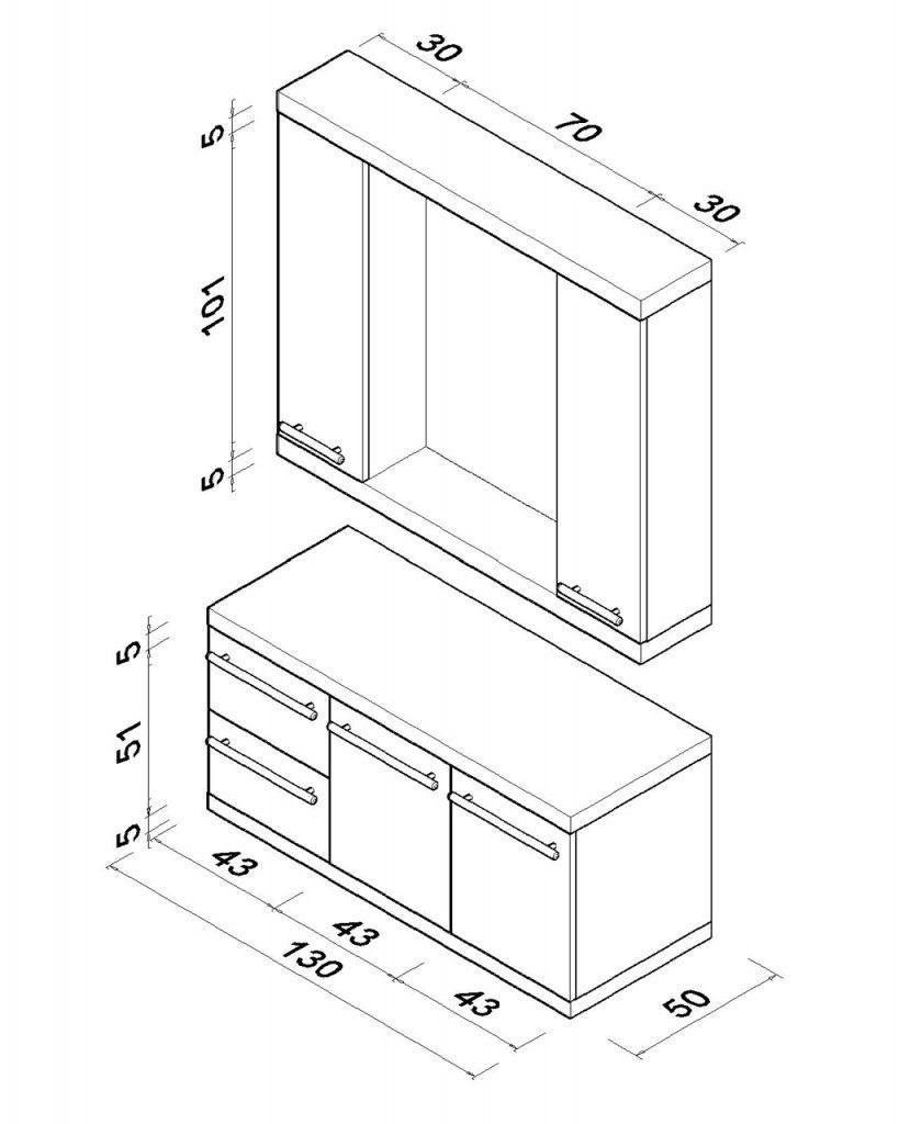 Banyo Dolabı Teknik çizim D Bathroom Cabinets Kitchen Cabinet