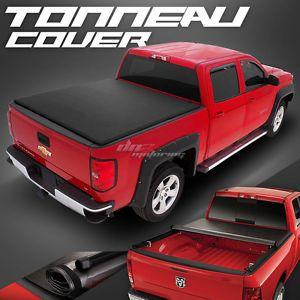 Hidden Roll Up Vinyl Tonno Tonneau Cover For 09 16 Dodge Ram Pickup 8ft Long Bed
