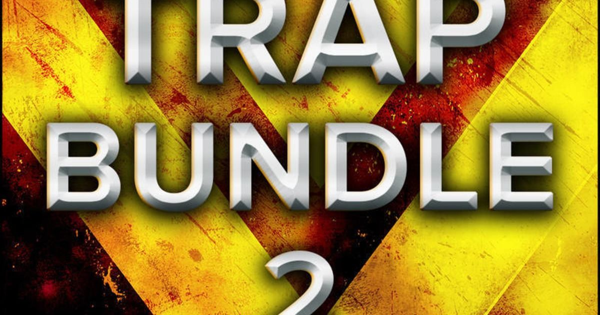 Trap Bundle 2 features 4 Trap sample packs with over 5 GB
