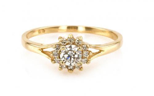 860a3485f Briliantový prsteň,, Marquis