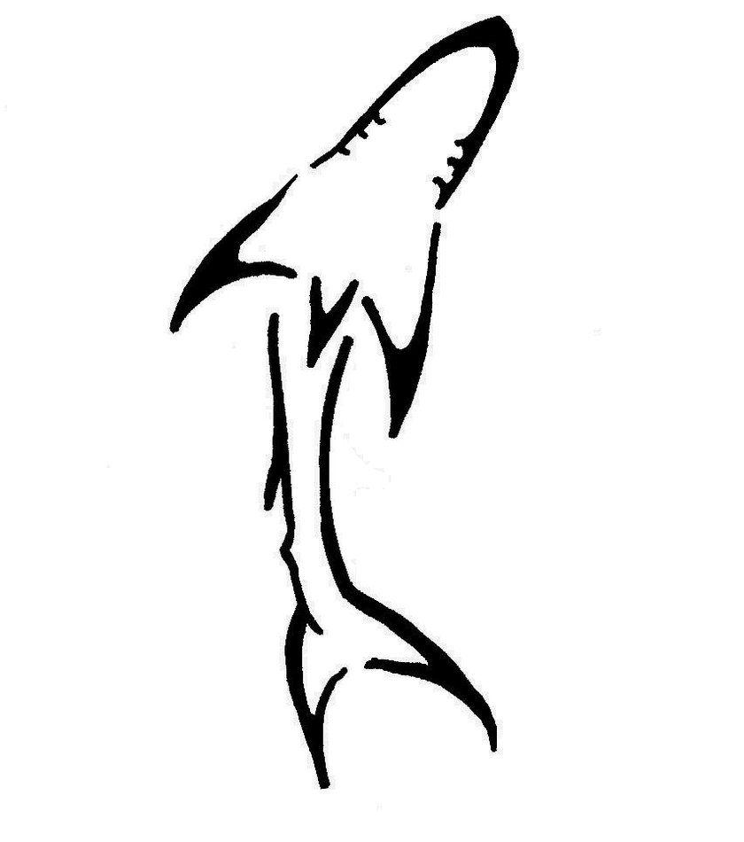 Shark Tattoo By Nashi Kun On Deviantart Shark Tattoos Back Tattoo Mako Shark Tattoo
