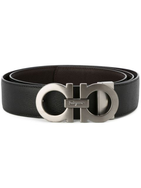 Shop Salvatore Ferragamo Gancini buckle belt.  f05db668acbb