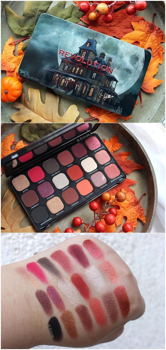 Revolution Haunted House palette for Halloween
