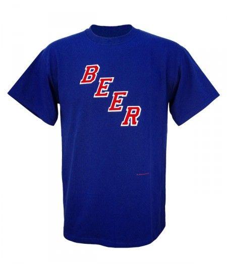 Beer Locker  - New York Rangers Beer T Shirt (Premium)