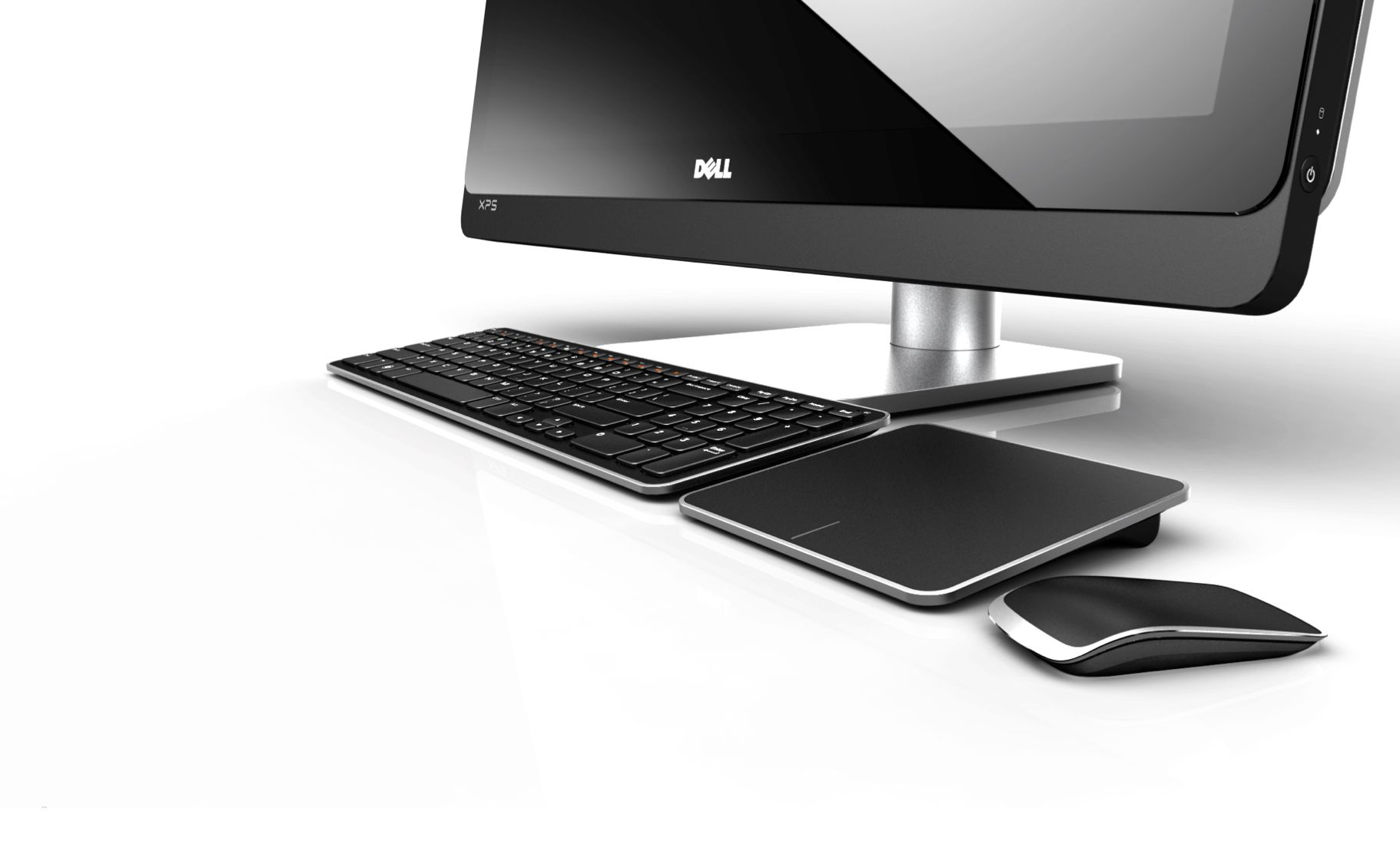 Dell Ecosystem with the new touchpad (Dell TP713) and wireless mouse (Dell WM713), Dell EDG SDC (Experience Design Group, Singapore Design Center)