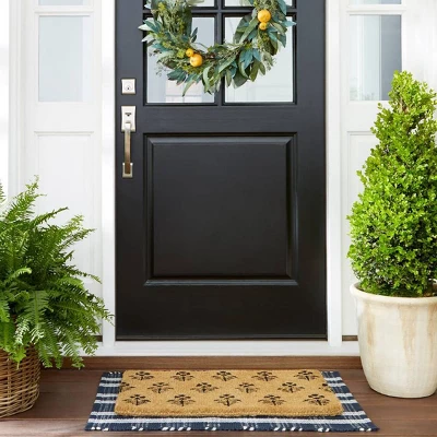 """Photo of 26 """"Artificial Citrus and Eucalyptus Wreath Green – Threshold with Studio McGee"""