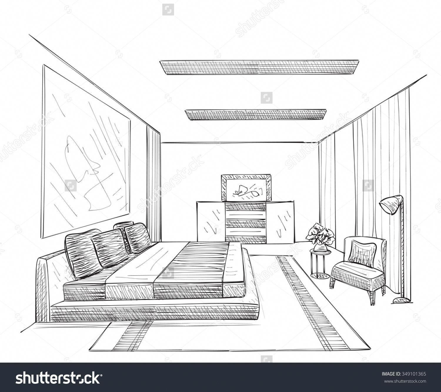 Besthomedecorationitems Room Perspective Drawing Interior Design Sketches Architecture Concept Drawings