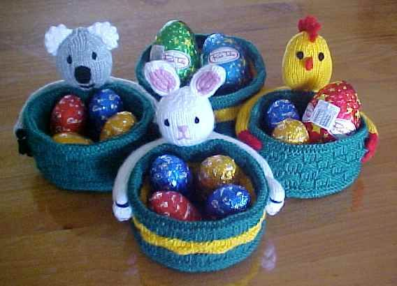 Free Knitting Patterns For Holidays Christmas Easter Valentine