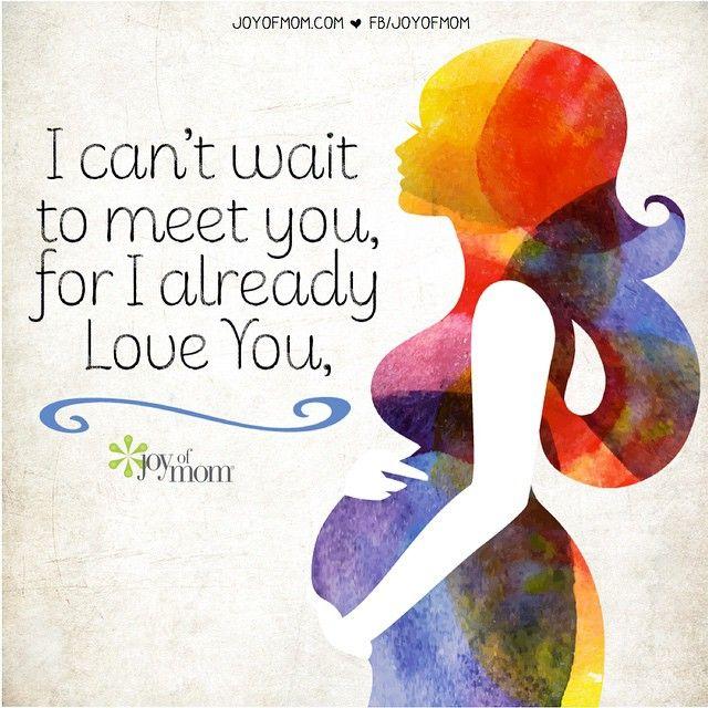 I can't wait to meet you, for I already love you. ⭐️☺️✨❤️ #love #family #motherhood #life #babies #happiness #vickireece #joyofmom