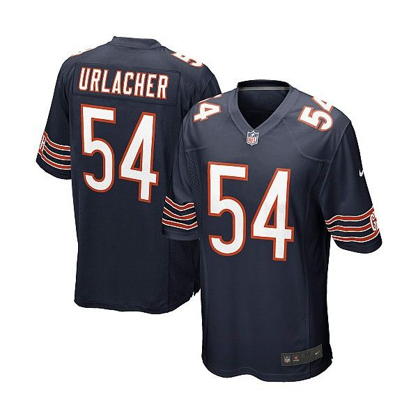 9208e4714 Men s Nike Chicago Bears Brian Urlacher Game Jersey
