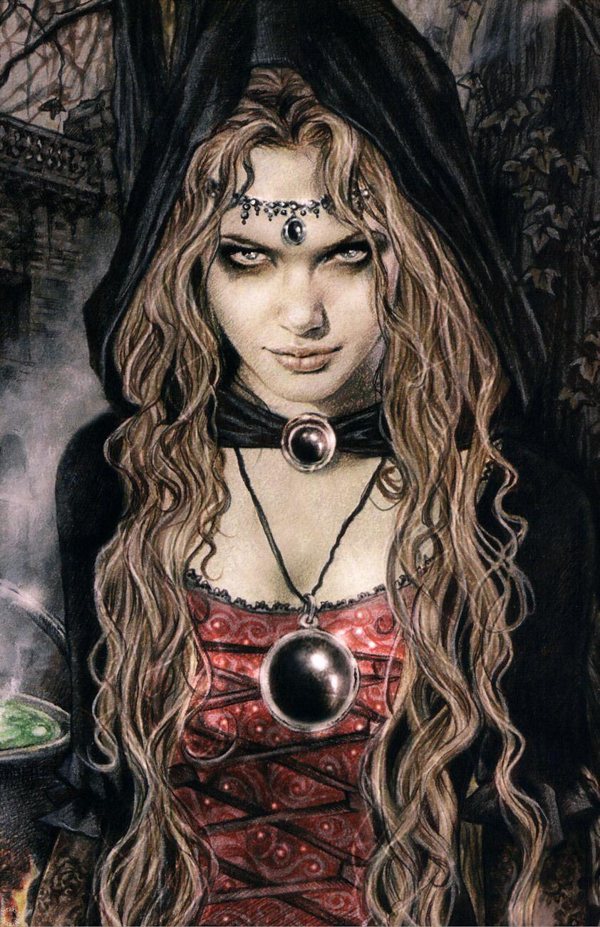 Poster Victoria Frances Witch Cauldron