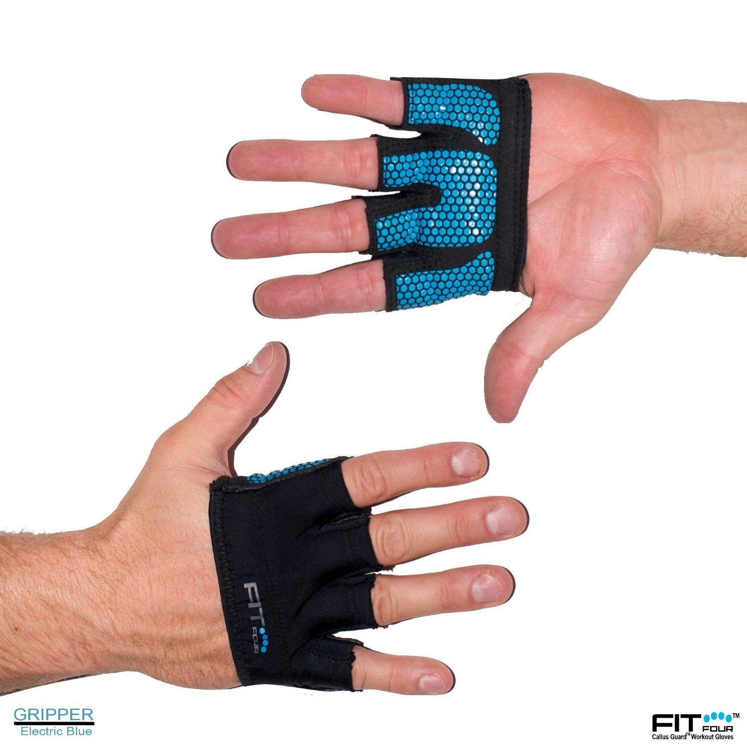 ad434e07b2aaf Amazon.com : The Gripper Glove | Callus Guard WOD Workout Gloves by ...
