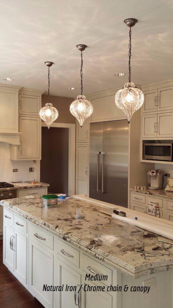 Goccia Pendant Kitchen Chandelier Kitchen Island Lighting