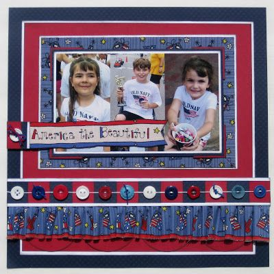 Awesome Patriotic Project for the I LOVE THE USA Blog Hop http://www.laurakellydesigns.com/laurakellydesignsblog/index.php/i-love-the-usa-blog-hop/