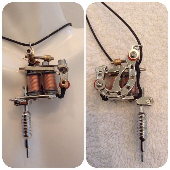 tattoo gun pendant pendants and big tattoo gun pendant all the bells and whistles of big brother but non working 3 mozeypictures Gallery