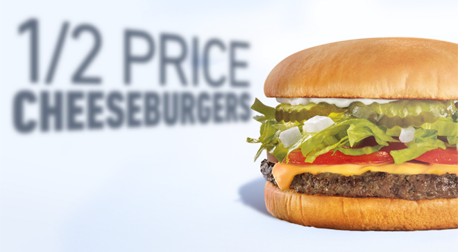 Price Cheeseburgers At Sonic Today Single Patty Cheeseburgers Only Tax Not Included Add Ons Cost Extra Cannot