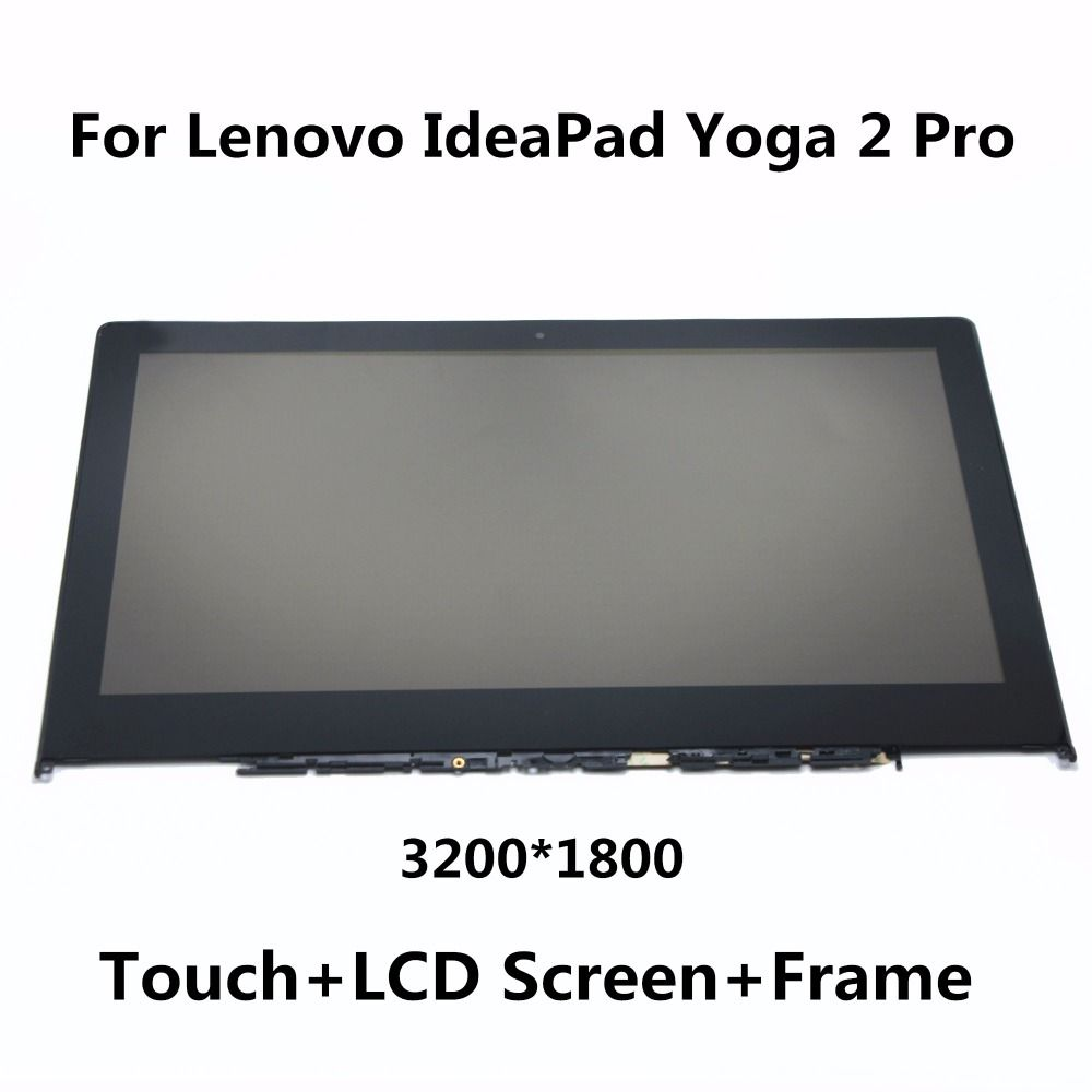 New For Lenovo Ideapad Yoga 2 Pro 13 3 Lcd Screen Display Touch Glass Panel Digitizer Assembly With Frame Ltn133yl01 Lt Laptop Lcd Lenovo Ideapad Touch Screen