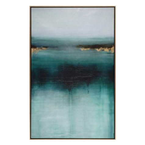 Art Wall Decor Another Way Canvas Z Gallerie Teal