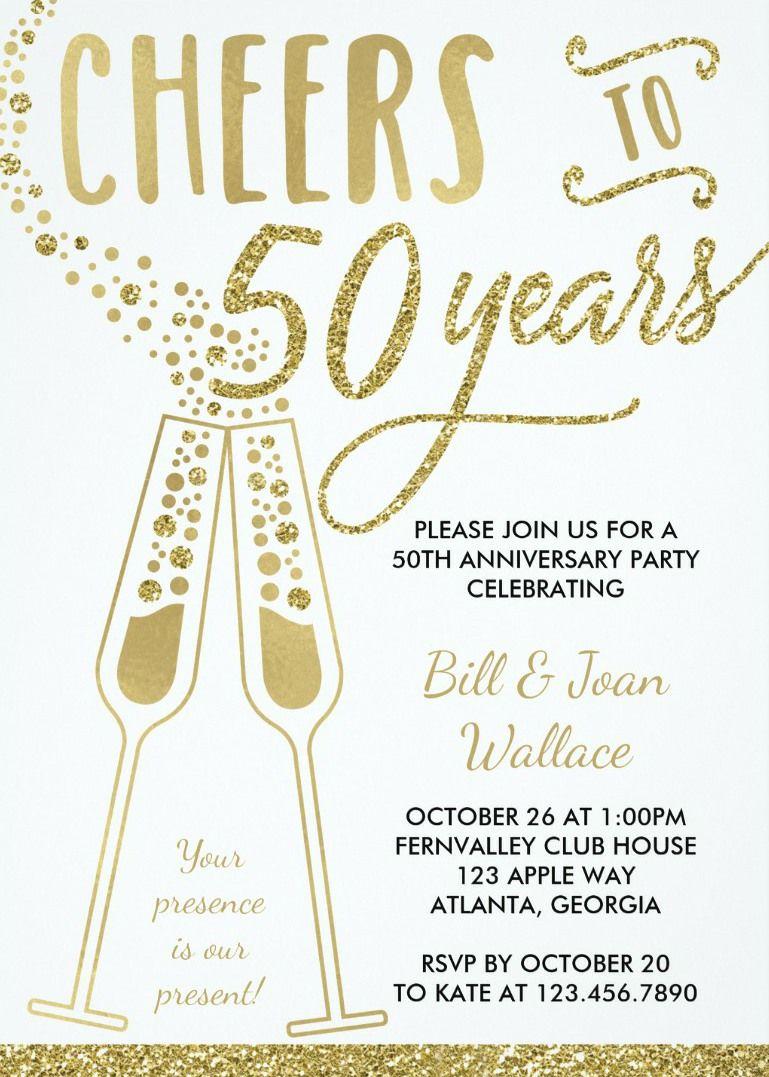 50th Wedding Anniversary Invitation Zazzle Com 50th Wedding Anniversary Invitations 50th Anniversary Invitations Anniversary Invitations