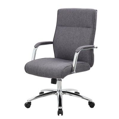 Modern Executive Conference Chair Gray Boss Chair Big Comfy Chair Conference Chairs