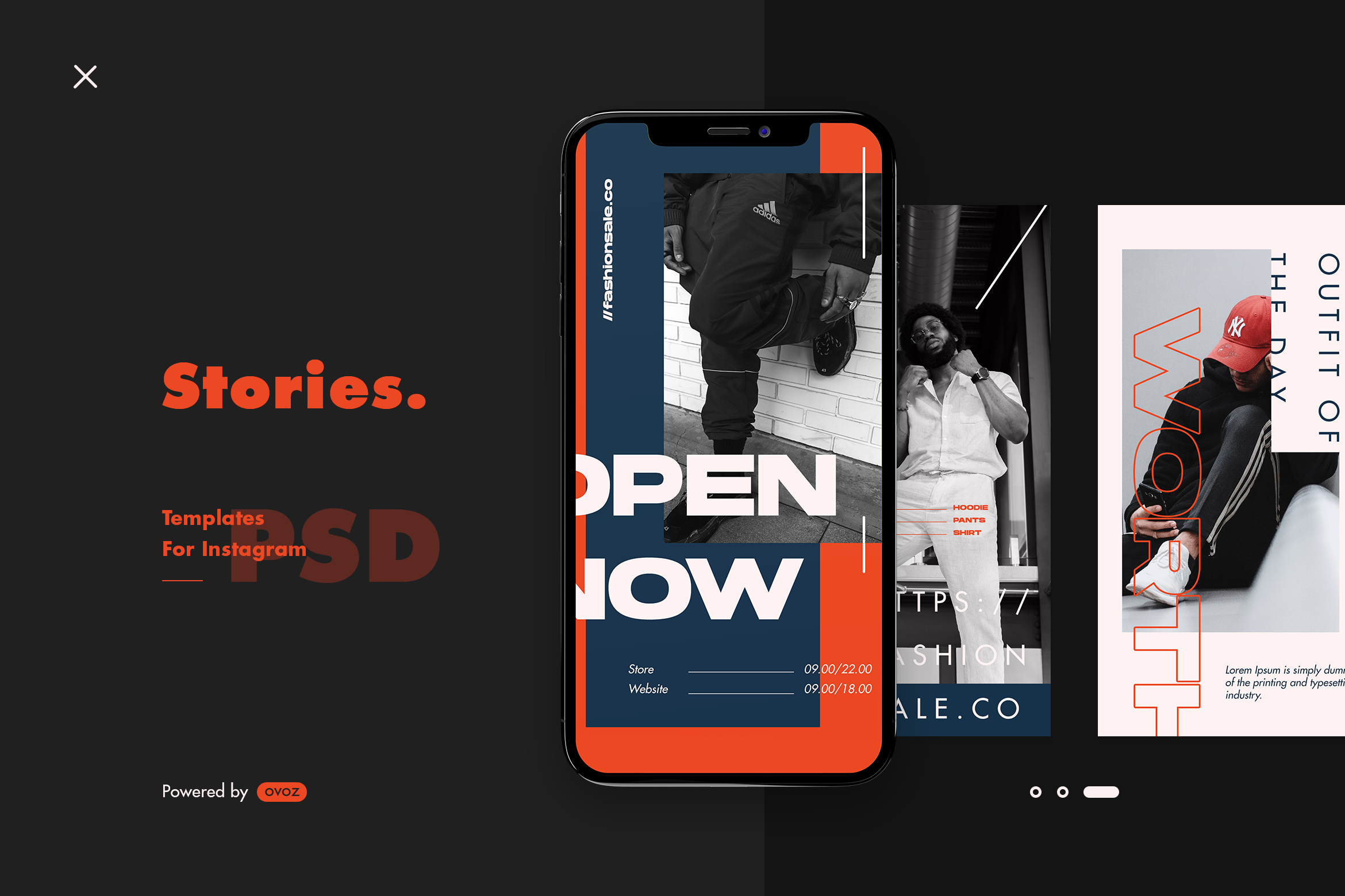Instagram Story Template (Graphic) by ovoz.graphics