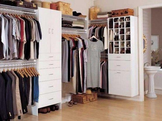 Cheap closet organizers ideas walk in closet design for Cheap walk in closet ideas
